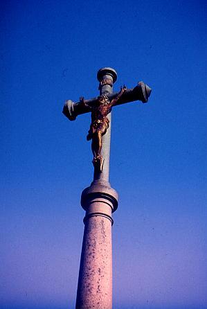 Steinkreuz in der Bretagne