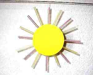 Bastelanleitungen Und Bastelideen Sonne