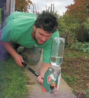 Luftwasser Rakete