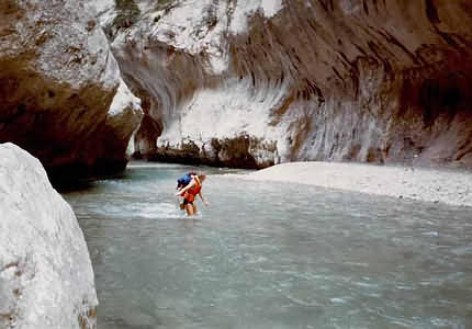 Canyoning im Grand Canyon du Verdon