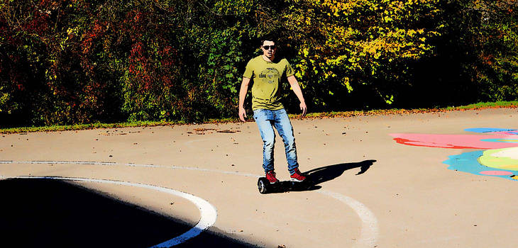 Hoverboard, Mini Segways oder Balance Scooter