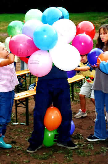 50 Luftballonspiele Fur Kinderfest Party Oder Feier